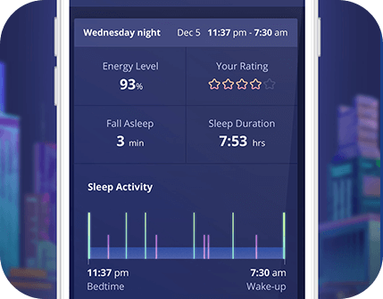 sleep x sleep deprivation app
